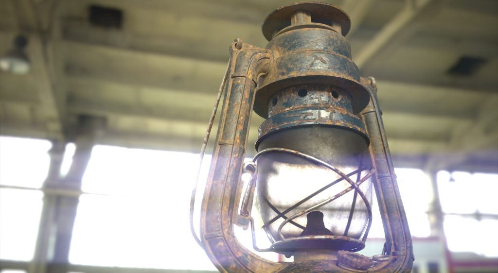 old lamp 01