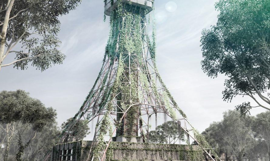 Post-apocaliptic Tokyo Tower