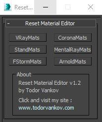 Reset Material Editor v1.2