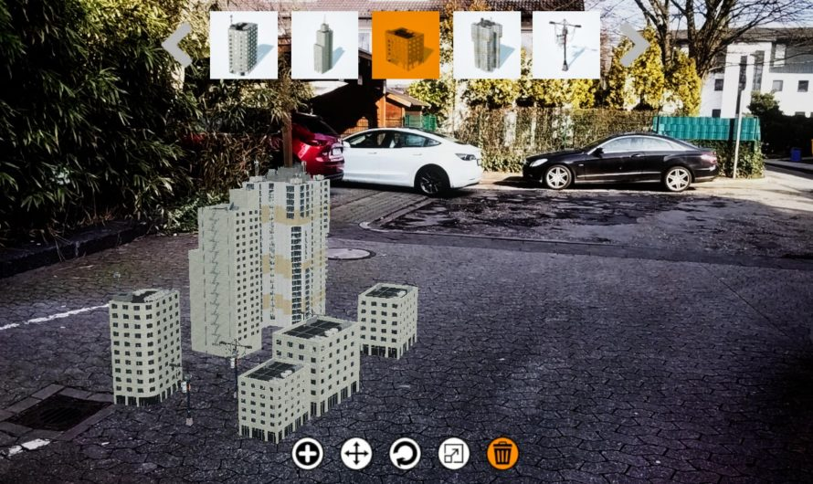 City Creator v.0.9 (Augmented Reality App)